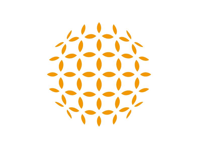 太陽光発電設備の販売を行う会社のかっこいいロゴマークと集客名刺